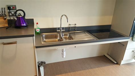 Accessible Kitchen Sink The Rings Accessible Lowered Kitchen Sink
