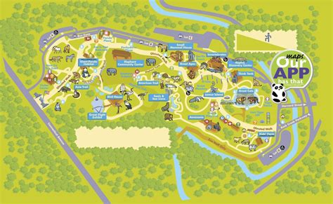 national zoo map national zoo maplets
