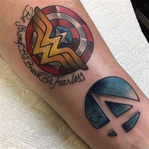 wonder woman wrist tattoo 30 geniale tattoos and