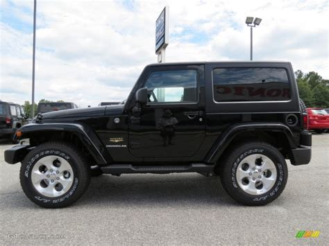 Jeep Wrangler Black 2013 Black 2013 Jeep Wrangler 4x4 Exterior Photo