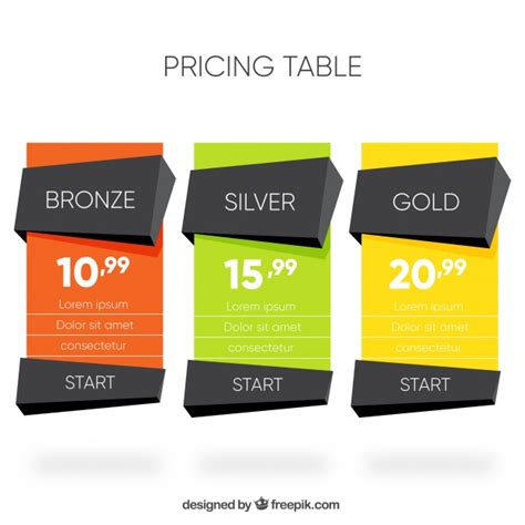 web price plan banners vector free download polygonal price banners vector free download