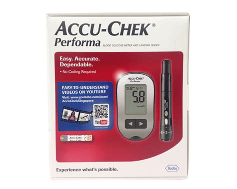 accu chek performa glucometer bundle l9111801499 117 00 the diabetic shop because we care