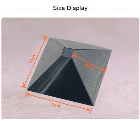 diy 3d holographic projection pyramid 3d holographic projection auxiliary tool pyramid diy