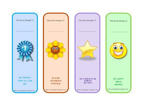 50 Free Printable Bookmark Templates Template Lab Bookmark Templates