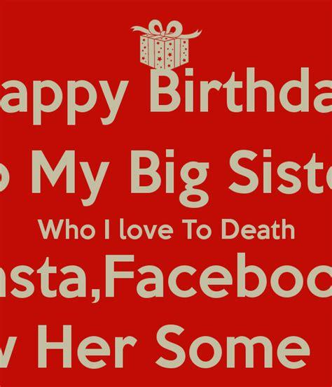 big sister quotes happy birthday quotesgram