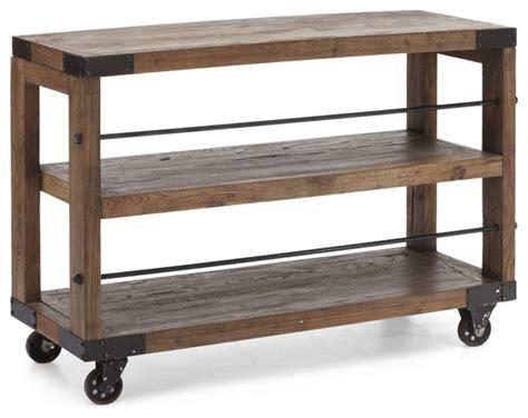 industrial kitchen cart fort shelf kitchen cart distressed