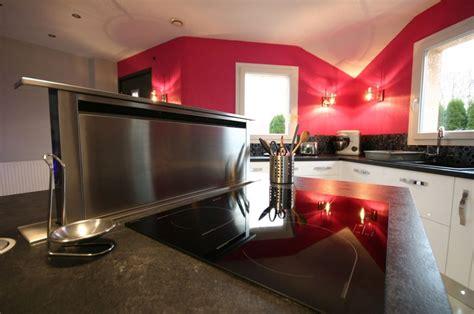 hotte de cuisine escamotable cuisine 238 lot laqu 233 e blanche meubles jem
