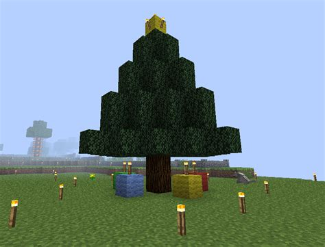 how to make an xmas tree on minecraft minecraft tree by zeldaskitten on deviantart