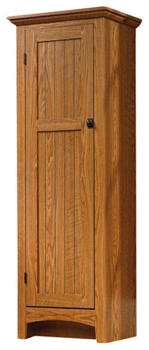 sauder select summer home pantry in carolina oak finish
