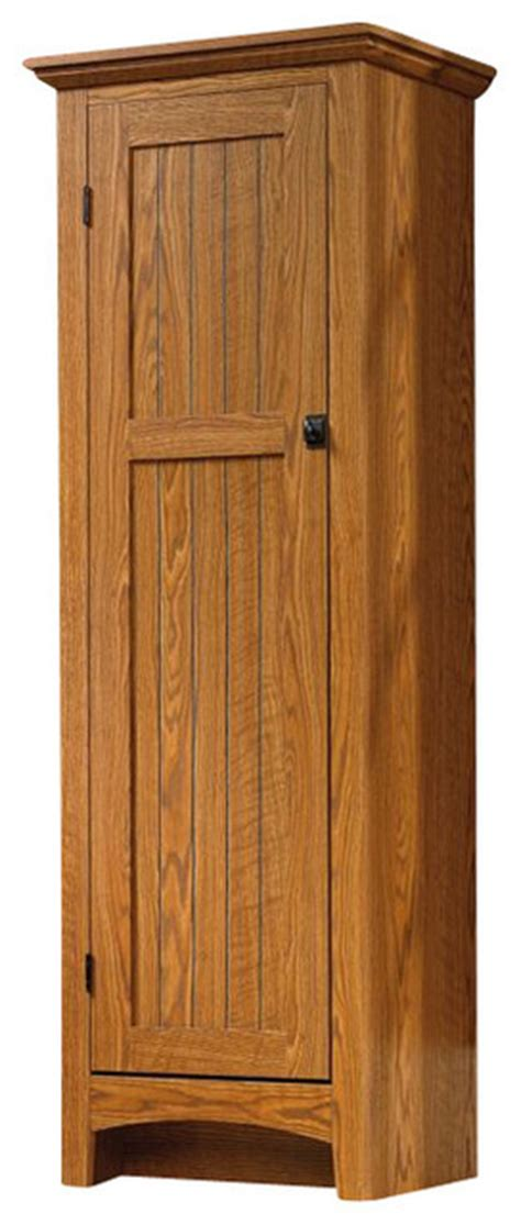 Sauder Select Summer Home Pantry in Carolina Oak Finish