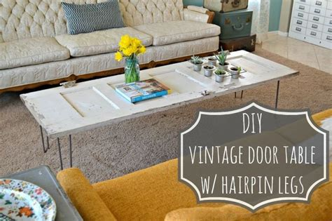 diy door table legs diy vintage door coffee table tutorial aelida
