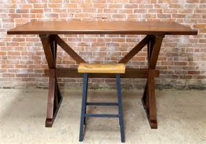 Rustic Bar Height Dining Table 42 Quot Bar Height Dining Table Rustic Dining Tables Boston By Ecustomfinishes