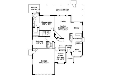 house plan blueprints spanish style house plans arcadia 11 003 associated
