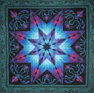 Lotus Quilt Pattern 2014 Quest Quilt Lotus