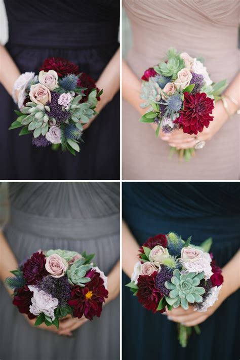 Small Bridesmaid Bouquets by 2983 Best Images About Burgundy Cranberry Maroon
