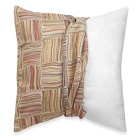bed bath and beyond pillow covers make your own pillow flourish square throw pillow cover in