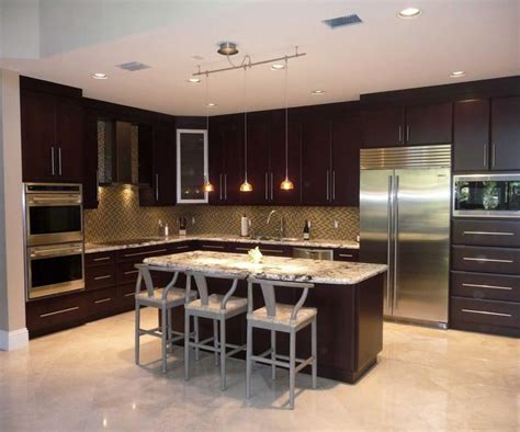 Modern Kitchen Cabinets Miami Pictures For Kitchen Cabinets Cabinet Refacing By Visions In Miami Fl 33179