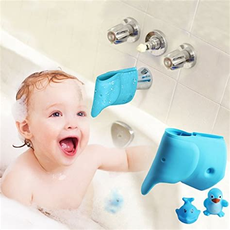 Bathtub Faucet Cover For Babies by Zhoma 2 Pack Faucet Extender Grey Baby Cribbed