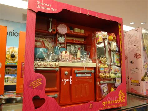 american doll kitchen set by our generation hd