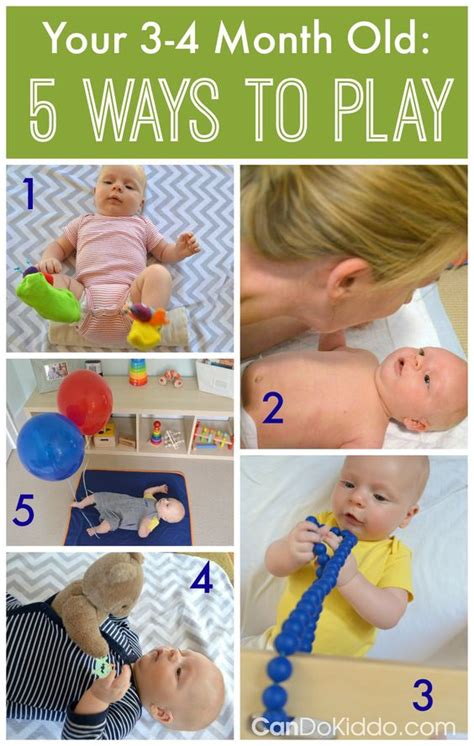 Top 10 Activities With Your Infant by Baby Milestones Play Ideas For 3 4 Month Olds Infant