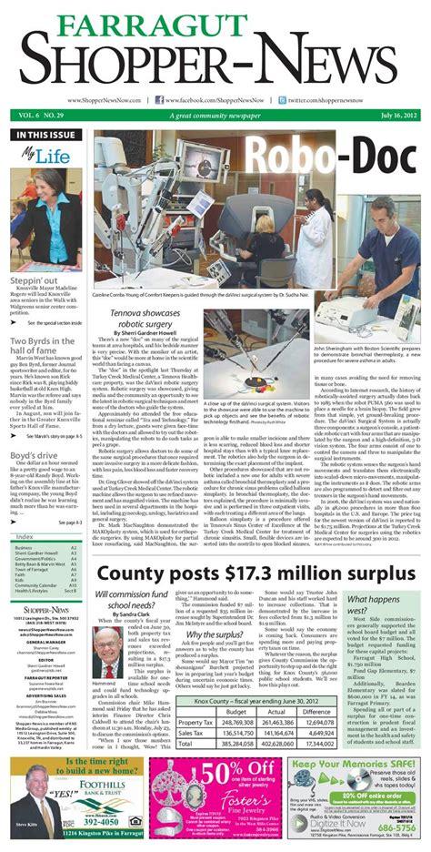 Shopping News by Farragut Shopper News 071612 By Shopper News Issuu