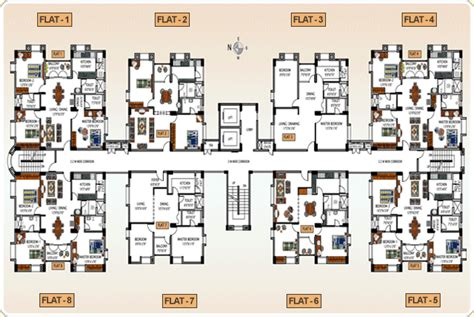 St Regis Floor Plan by Lt Infocity Residential Serene County Developers