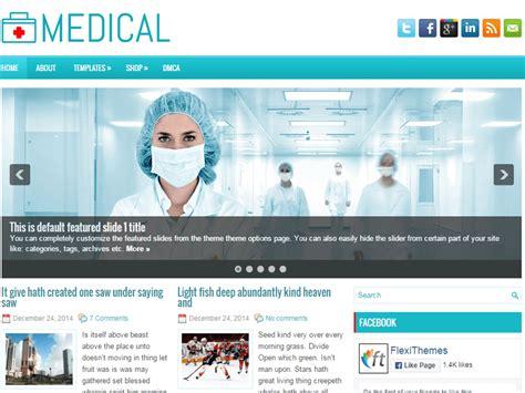 wordpress themes free medicine 19 free medical wordpress themes 2018 themelibs