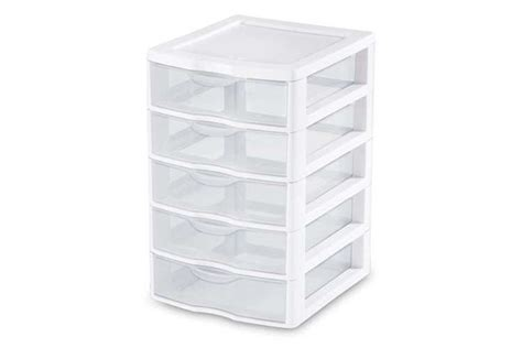 Small Sterilite Drawers by Sterilite Small 5 Drawer Unit 20758004 Vminnovations