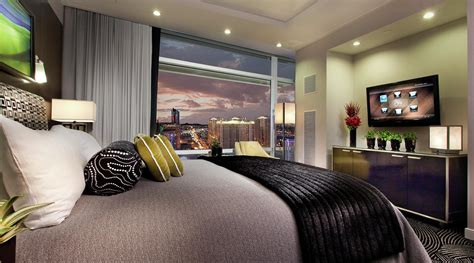 hotel suites in vegas with 2 bedrooms two bedroom suite in las vegas aria resort casino