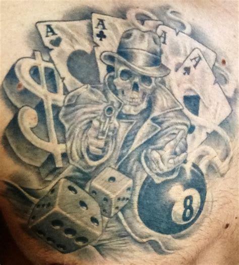 tattoo of life is a gamble tim1706 life is a gamble tattoos von tattoo bewertung de