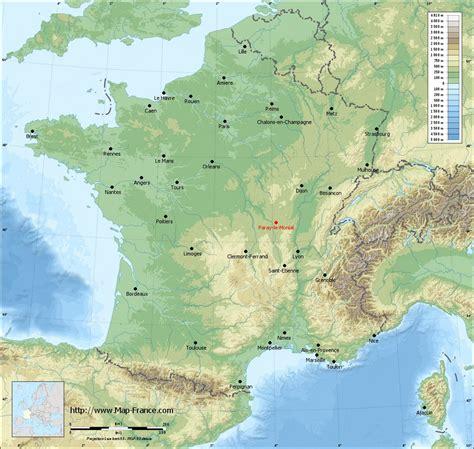 ROAD MAP PARAY LE MONIAL : maps of Paray le Monial 71600