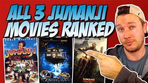 jumanji film clips all 3 jumanji movies ranked worst to best w jumanji