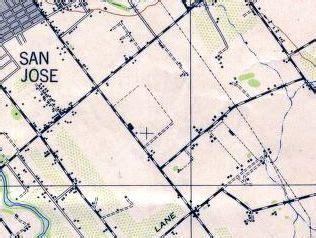 san jose parcel map abandoned known airfields san jose area