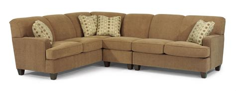 flex steel sectional flexsteel living room sectional 5641 sect slone brothers