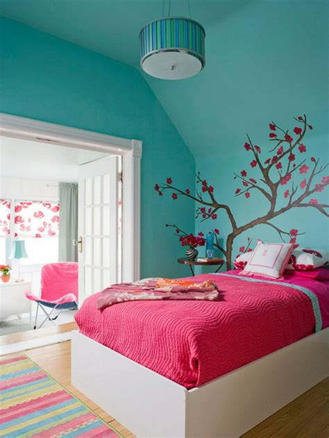 chambre combiné fille 44 tolle ideen f 252 r luxus jugendzimmer archzine