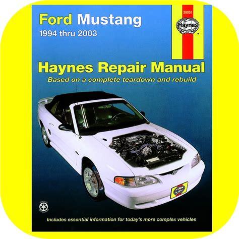 free auto repair manuals 2010 ford mustang interior lighting repair manual book ford mustang lx gt 5 0 owner new ebay
