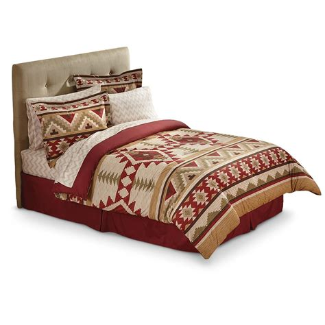 comfortable comforter castlecreek southwest bed set 667188 comforters at
