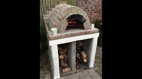homemade easy outdoor pizza oven diy youtube