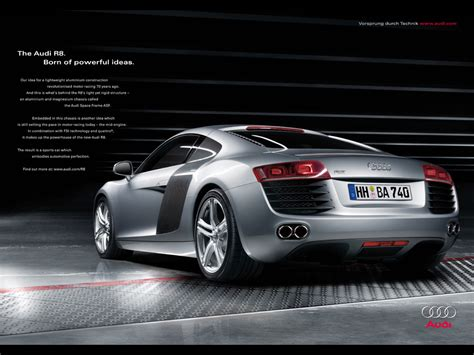 audi advertisement audi quot the audi r8 pre launch 5 quot