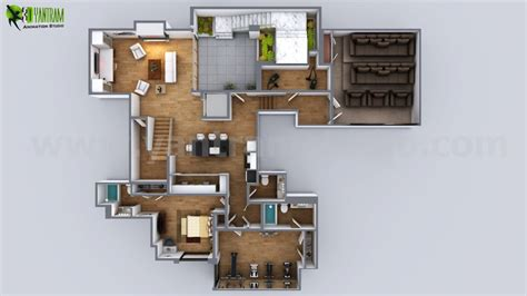 modern residential architecture floor plans fully modern house ideas by yantram 3d architectural
