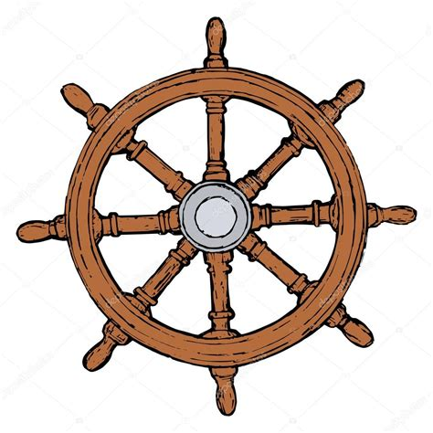boat steering wheel will not turn ship steering wheel stock vector 169 perysty 21812903