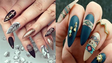 imagenes uñas de moda unas postizas a la moda pictures to pin on pinterest