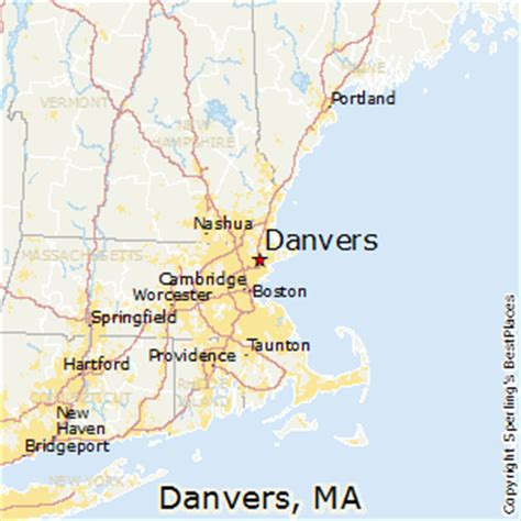 best places to live in danvers massachusetts