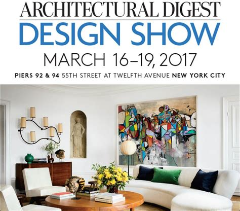 ad home design show promotion code architectural digest home design show new york city home