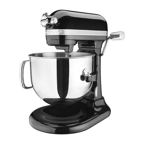 Kitchenaid 3 Speed Mixer Onyx Black Kitchenaid Ksm7586pob 10 Speed Stand Mixer W 7 Qt