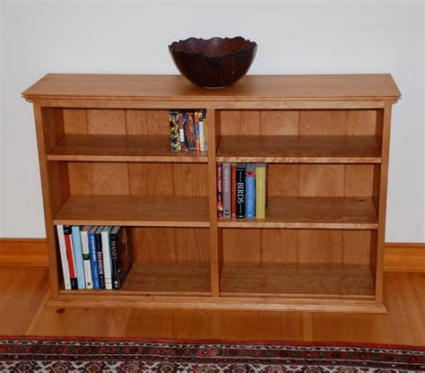 shaker bookcase solid hardwood cherry bookcase vermont