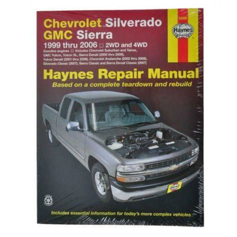 car engine manuals 2007 chevrolet suburban 1500 electronic valve timing chevrolet silverado repair manual ebay