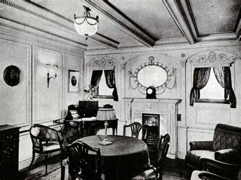 titanic first class life onboard photos