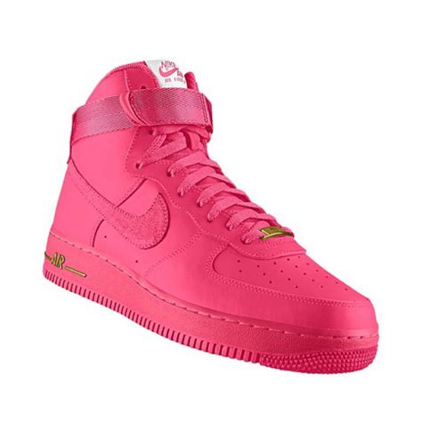 Nike One High Pink shoes pink sneakers nike sneakers nike all pink high