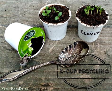 Ideas for Reusing K Cups   Upcycling Coffee Pods